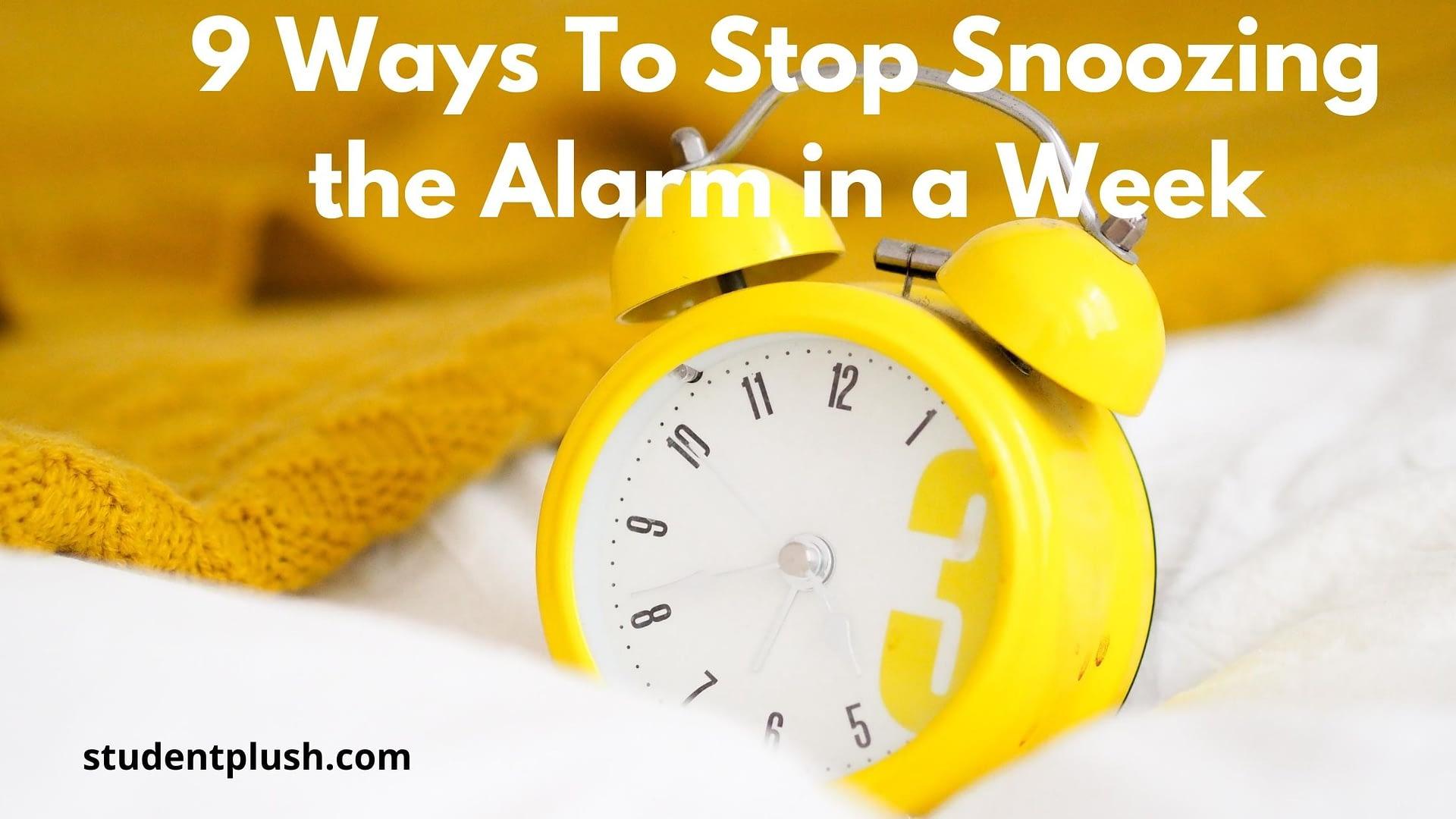 An alarm clock on fluffy blanket