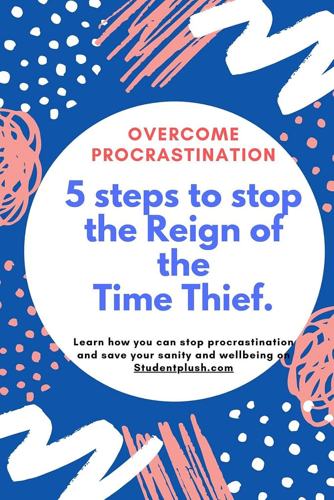 It's a continous process learning how to overcome procrastination.