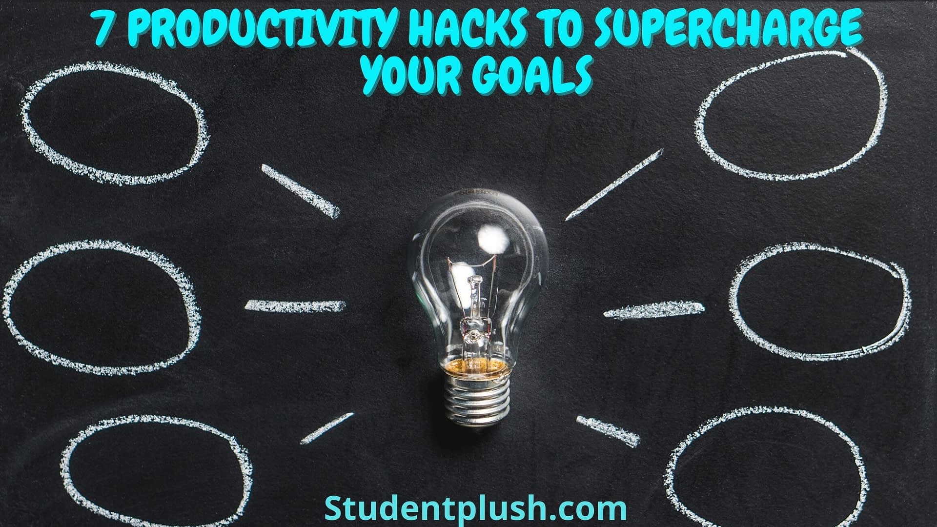 Productivity Hacks for college life