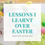 lessons I learned over Easter eggs blog banner