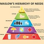 The maslow hierachy of needs to help in money management.